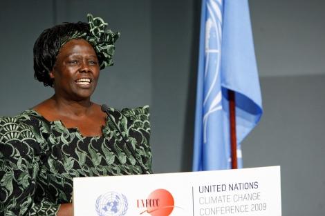 Wangari Maathai Inducted as UN Messenger of Peace