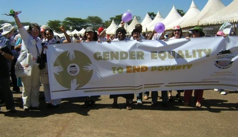 FTF motto: Gender Equality to End Poverty