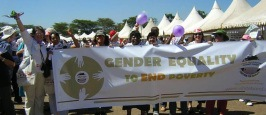 Gender Equality to End Poverty - FTF motto
