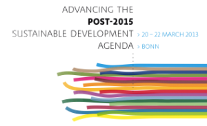 Advancing the Post-2015 Sustainable Development Agenda