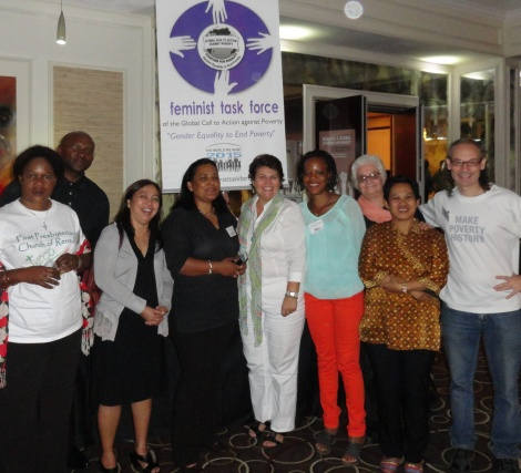 FTF members and partners in Johannesburg, Nov. 2013