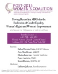 Post 2015 Women's Coalition.3.12.14
