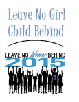 Leave No Girl Behind logo